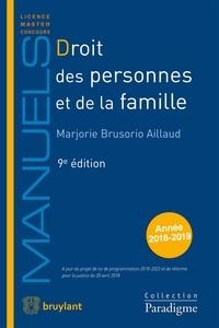 Marjorie Brusorio - Droit des personnes et de la famille.