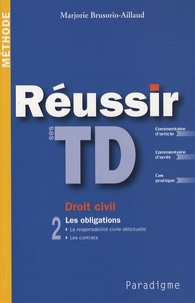 Openwetlab.it Réussir ses TD Droit civil - Tome 2, Les obligations Image