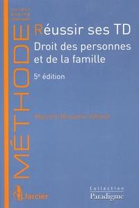 Deedr.fr Réussir ses TD - Droit des personnes et de la famille Image