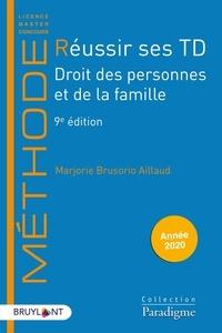Réussir ses TD- Droit des personnes et de la famille - Marjorie Brusorio pdf epub