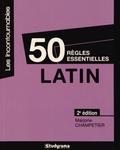 Marjorie Champetier - Latin - 50 règles essentielles.
