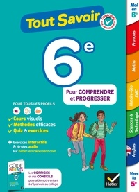 Marjorie Champetier et Rémy Georges - Tout savoir 6e.