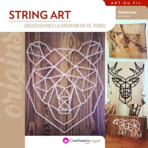 Marjorie Doux - String art : (re)decouvrez la création en fil tendu.