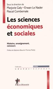 Deedr.fr Les sciences économiques et sociales - Histoire, enseignement, concours Image