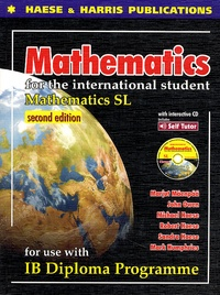 Marjut Mäenpää - Mathematics for the international student-IB diploma. 1 Cédérom