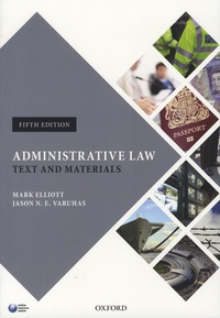 Satt2018.fr Administrative Law - Text and Materials Image