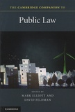 Mark Elliott et David Feldman - The Cambridge Companion to Public Law.