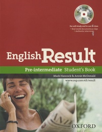 Mark Hancock - English Result - Pre Intermediate - Student's Book. 1 DVD