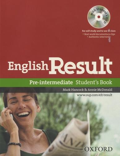 Mark Hancock - English Result - Pre Intermediate - Student's Book. 1 DVD