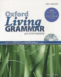 Mark Harrison - Oxford Living Grammar - Pre-Intermediate Student's Book Pack. 1 Cédérom