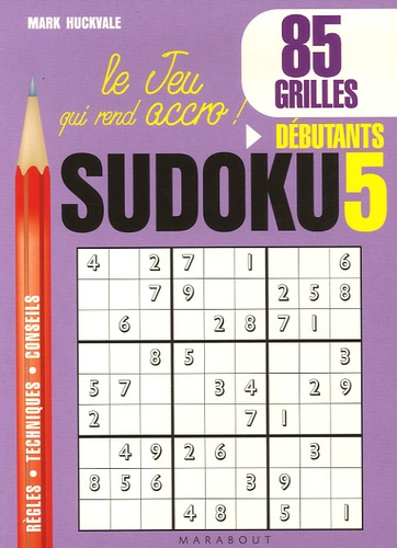Mark Huckvale - Sudoku 5 - Joueurs débutants.
