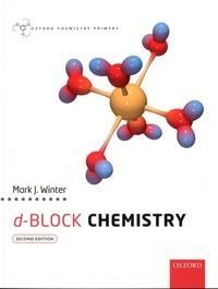 Mark-J Winter - d-Block Chemistry.
