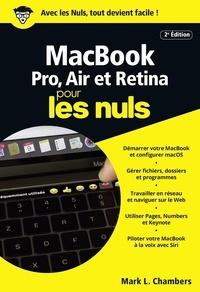 Mark L. Chambers - MacBook, Pro, Air et Retina pour les nuls.