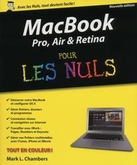Mark L. Chambers - MacBook Pro, Air, Retina pour les Nuls.