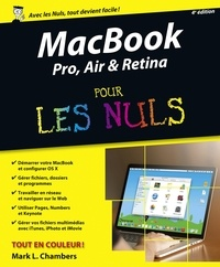 Macbook Pro, Air & Retina pour les nuls - Mark-L Chambers | Showmesound.org