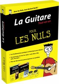 Mark Philipps et Jon Chappell - La Guitare Tout-en-un pour les nuls - Coffret 2 volumes : La Guitare pour les nuls ; Exercices de guitare pour les nuls. 2 CD audio