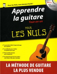 Mark Phillips et Jon Chappell - Apprendre la guitare Tout en un pour les nuls. 2 CD audio