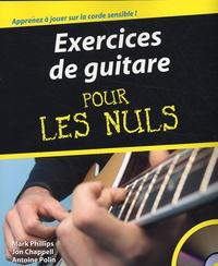 Mark Phillips et Jon Chappell - Exercices de guitare pour les Nuls. 1 Cédérom
