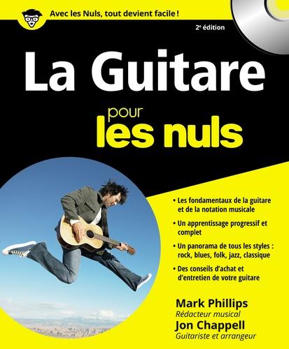 La Guitare pour les nuls 2e édition -  avec 1 CD audio