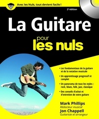 Mark Phillips et Jon Chappell - La Guitare pour les nuls.