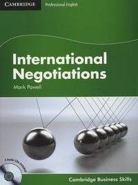 Mark Powell - International Negotiations. 2 CD audio