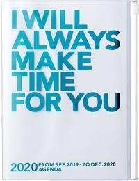 MARK'S - Agenda SAD Clear Storage A5 1sem /2p Turquoise