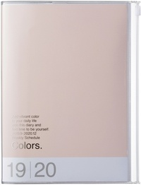 MARK'S - Agenda SAD Colors A5 1sem /2p pink beige