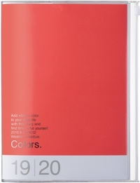 MARK'S - Agenda SAD Colors A5 1sem /2p Red Pink