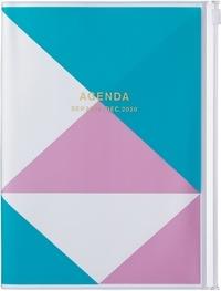 MARK'S - Agenda SAD Geometric A5 1sem /2p Blue