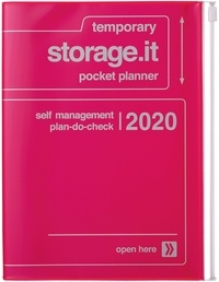 MARK'S - Agenda SAD Storage.it A5 1sem /2p Neon pink