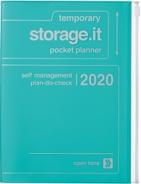 MARK'S - Agenda SAD Storage.it A5 1sem /2p Turquoise