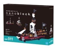 MARK'S - Boîte Nanoblock Bateau pirate