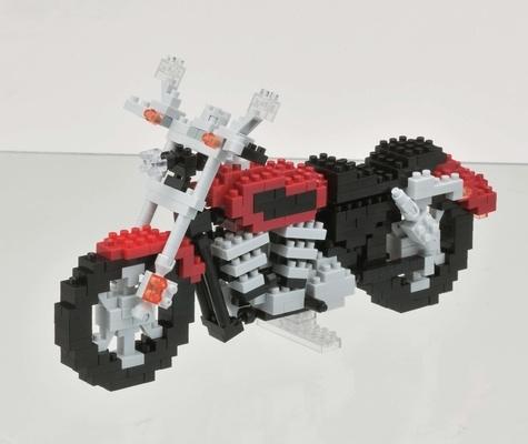 MARK'S - Boîte Nanoblock Motorcycle