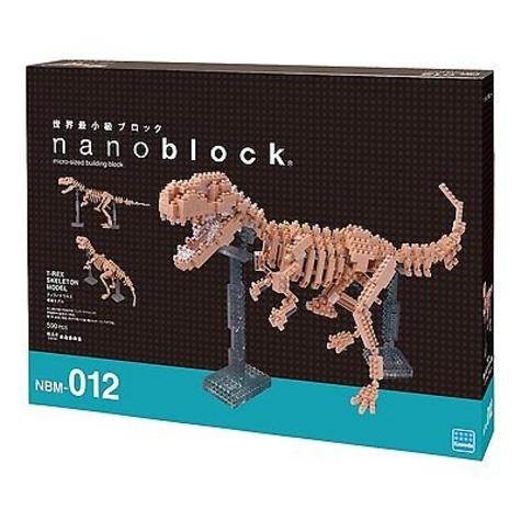 MARK'S - Boîte Nanoblock Squelette T-Rex