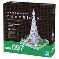 MARK'S - Boîte Nanoblock Tour Eiffel - rives de la Seine à Paris