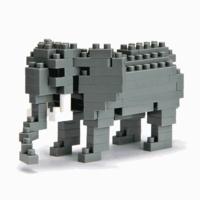 MARK'S EUROPE - MINI SERIES NANOBLOCK AFRICAN ELEPHANT