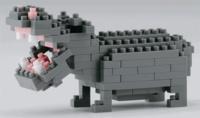 MARK'S - Sachet Nanoblock Hippopotame