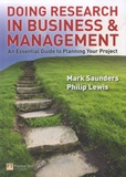 Mark Saunders - Doing Research in Business and Management - An Essential Guide to Planning Your Project.