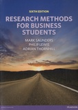 Mark Saunders - Research Methods for Business Students.