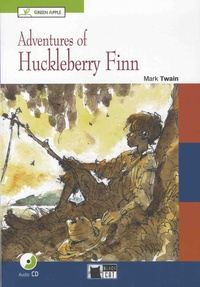 Mark Twain - Adventures of Huckleberry Finn. 1 CD audio