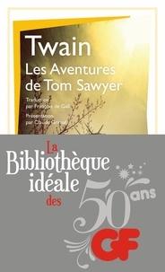 Mark Twain - La bibliothèque idéale des 50 ans GF Tome 5 : Les aventures de Tom Sawyer.