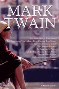 Mark Twain - Oeuvres - Les aventures de Tom Sawyer ; Les Aventures d'Huckleberry Finn, l'ami de Tom Sawyer ; Tom Sawyer à travers le monde ; Tom Sawyer détective ; Le Prince et le Pauvre ; Un Yankee à la cour du roi Arthur ; Wilson Tête-de-Mou ; Les Jumeaux extraordinaires.