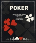 Market'in - Poker - Le livre du Texas Hold'em, 100 jetons, 1 jeton Dealer, 1 jeu de cartes.
