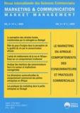 Bassirou Tidjani et Yves Chirouze - Marketing & Communication Volume 9 N° 1/2009 : Le marketing en Afrique : comportements des consommateurs et pratiques commerciales.