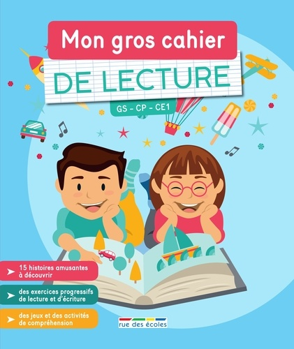 Mon gros cahier de Lecture GS CP CE1  Edition 2021