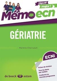 Marlène Cherruault - Gériatrie.