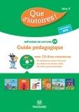 Marlène Etre et Christelle Kulik - Méthode de lecture CP Que d'histoires ! Série 3 - Guide pédagogique. 1 Cédérom