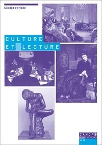 Culture et lecture - Tisser des liens en littérature.pdf
