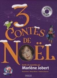 Marlène Jobert - 3 contes de Noël. 2 CD audio