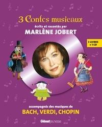 Marlène Jobert et Frédérick Mansot - 3 contes musicaux - Coffret en 3 volumes : Une nuit bizarre, bizarre ; Maman a engagé une sorcière ; Les trois génies de Noël. 1 CD audio
